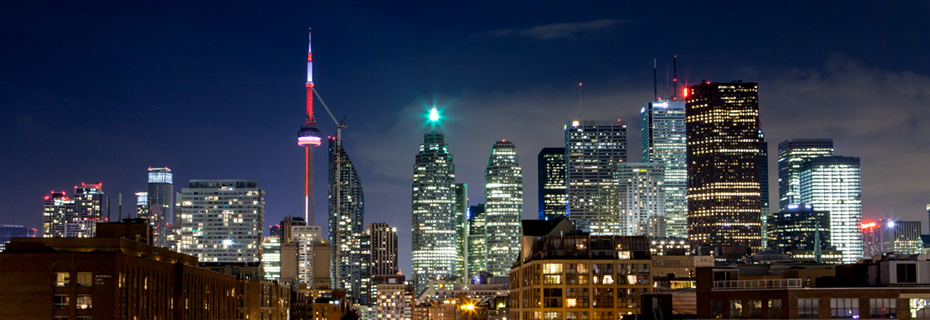 Toronto Skyline (Night)